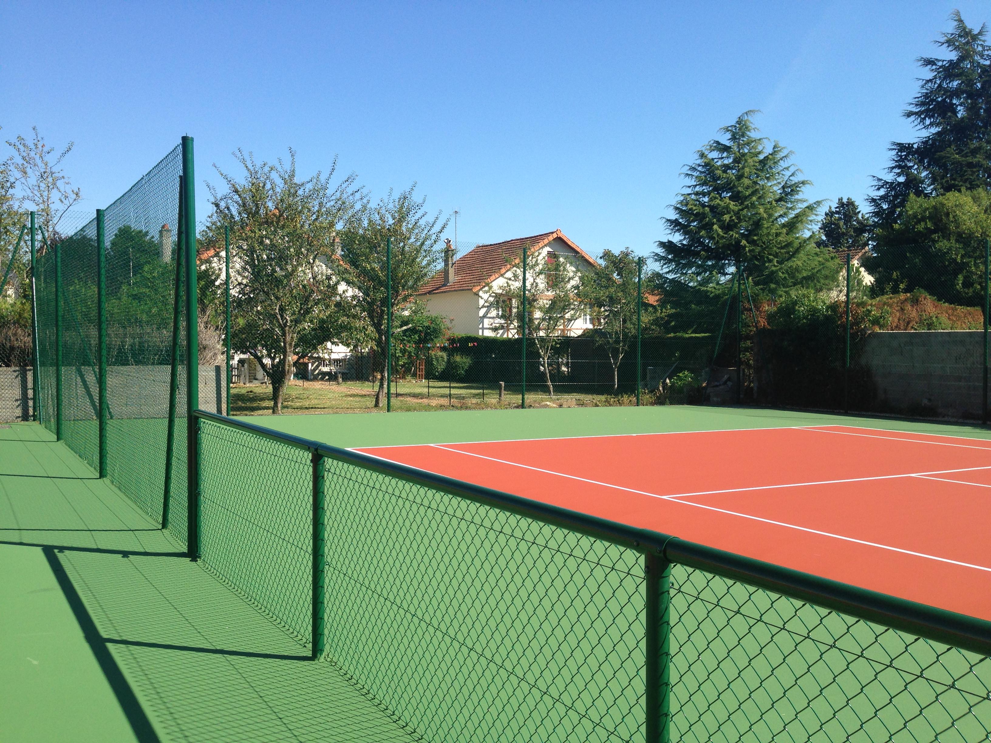 Clôture tennis Châtellerault (86)