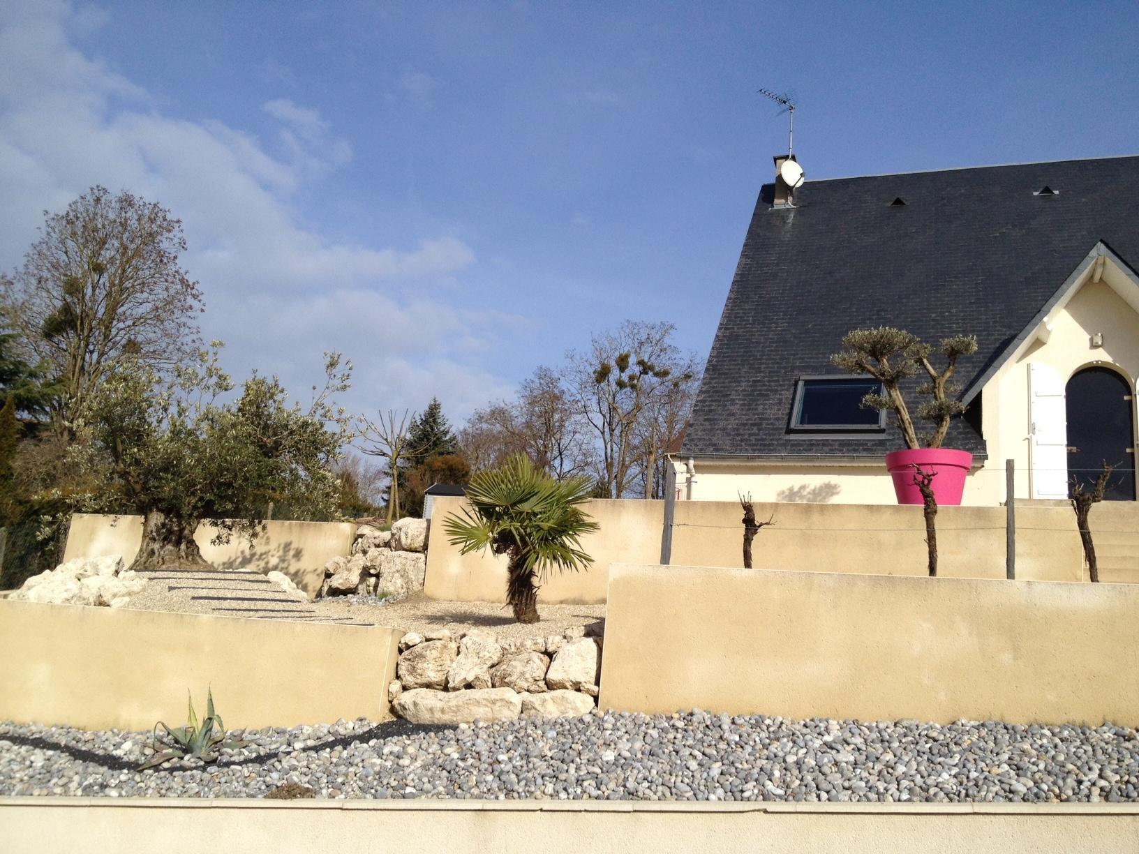 Conception et réalisation d'un jardin particulier